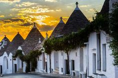 Another UNESCO World Heritage Site is the village of Alberobello. Situated in southern Italy and bui... - Photo: Getty Images