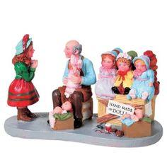 Lemax Collectibles   Lemax Caddington Village Figurine Doll Maker #82525 - American Sale