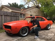 This lucky guy won a JRi Shocks ride height system at #sema2014.  His '69 camaro features parts from @detroitspeedinc and @forgeline read the full story...