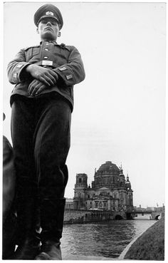 Mark B. Anstendig - Mayday, 1960 - Berliner Dom and soldier