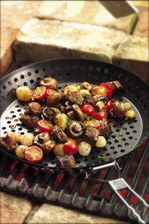 Grilled Sirloin w/ mushrooms :P