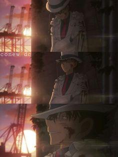 #detectiveconan mv23 #magickaito Mi Kaito......💔 Conan Movie, Detektif Conan, Magic Kaito, Anime Love, Anime Guys, Detective, Amuro Tooru, Sick Boy, Kaito Kuroba