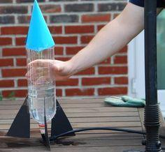 Esperimenti scientifici per bambini – Razzo ad acqua – Lapappadolce