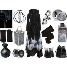 Smoke and Ash by maggiehemlock on Polyvore featuring mode, Alexander McQueen, Trasparenze, Dorothy Perkins, Diesel, H&M, Portolano and Rituel de Fille