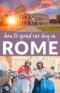 Rome wasn't built in a day, and it really shouldn't be seen in a day, but sometimes when you plan a Italy Travel Tips, Travel Destinations, Rome Travel, Budget Travel, Travel Europe, Traveling To Italy Tips, Backpacking Europe, Travel News, Cheap Travel