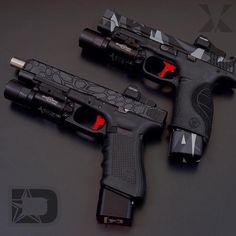 Understand the Glock trigger better and notice how much you progress using your Glock pistol! Understanding the Glock Trigger Glock Weapons Guns, Guns And Ammo, Armas Wallpaper, Armas Ninja, Custom Guns, Custom Glock, Military Guns, Cool Guns, Fantasy Weapons