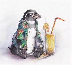 Penguin Party, Penguin Love, Cute Penguins, Penguin Tattoo, Penguin Pictures, Magnificent Beasts, Supercars, Picture Logo, Animals