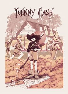 Johnny Cash - Poster commemorativo 0