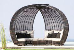 Design garden canopy sofa  SPARTA