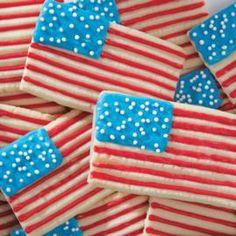 Spritz Stars & Bars Cookies