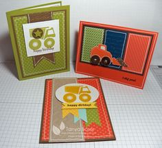 I Dig You cards by tanya27 - Cards and Paper Crafts at Splitcoaststampers