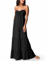 5e280d7e03e Women s Clothes Women s Tiered Maxi Tube Dresses Black White Top Trends Old  Navy - Stylehive