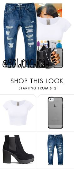 """""""Imma start my on stories on wattpad pretty soon 😛 @g0ldenchicaa"""" by g0ldenchicaa ❤ liked on Polyvore featuring Haze, H&M and MANGO"""