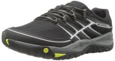 Merrell Mens All Out Rush Trail Running M US ** To view further for this item, visit the image link. (This is an affiliate link) Running Man, Black Running Shoes, Trail Running Shoes, Footwear, Sneakers, Lime, Image Link, Amazon, Style