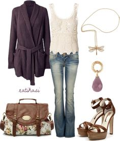 """""""Romantic Spring Outfit"""" by natihasi on Polyvore"""