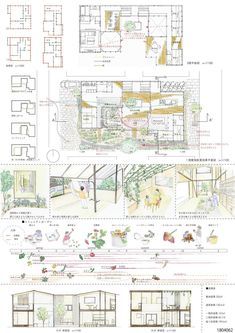 受賞作品 - 木の家設計グランプリ Presentation Skills, First Home, Architecture Design, Floor Plans, Layout, Japanese Architecture, Architecture Layout, Page Layout, Starter Home