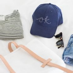 Stitch your favorite saying or design on a baseball cap with a few simple steps!
