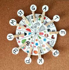 Cheek circle parenthesis card children kindergarten phonological awareness preschool by 3 Year Old Activities, Library Activities, Kindergarten Activities, Alpha Bet, Montessori Materials, Montessori Toys, Initial Sounds, Phonological Awareness, Literacy Stations