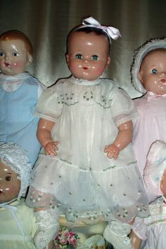 Antique Composition Dolls