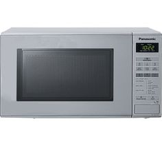 Buy Panasonic NN-E281MM 800W Standard Touch Microwave - Silver at Argos.co.uk - Your Online Shop for Microwaves, Kitchen electricals, Home and garden.
