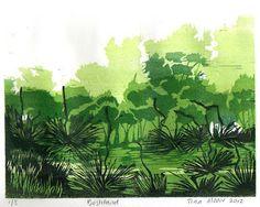 Bushland by TinasPrints on Etsy, $100.00