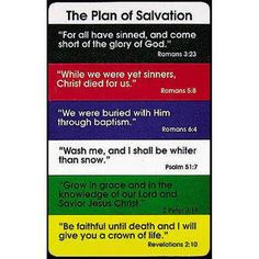 Salvation Colors Meaning | the path of colors that are symbolic to God's plan of salvation ...
