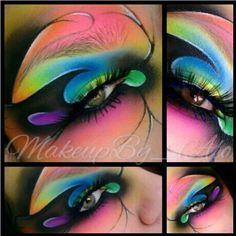 How completely magical is this? Makeupby_alo used Sugarpill eyeshadows to complete this stunning fantasy look. Amazed by her clean lines and perfect blending! Adult Face Painting, Sugarpill Cosmetics, Eyeshadows, Real Techniques Brushes, Fantasy Make Up, Character Makeup, Theatrical Makeup, How To Clean Makeup Brushes, Makeup Designs