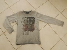 TEE SHIRT MANCHES LONGUES GARCON TAILLE 10 ANS #TSHIRT