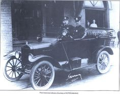 KC Police - history - first motorized officers
