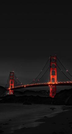 Golden Gate Bridge, San Francisco - New Sites City Wallpaper, Scenery Wallpaper, Nature Wallpaper, Wallpaper Backgrounds, Iphone Wallpapers, Wallpaper Quotes, Iphone Pics, Trendy Wallpaper, Landscape Wallpaper