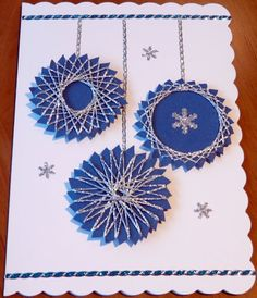 Handmade card spirelli