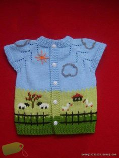 Knitted Boys and Girls Baby Sweater, Vest Cardigan Patterns - Knitting, Crochet Love Knitting Club, Knitting Blogs, Baby Cardigan Knitting Pattern, Baby Knitting Patterns, Baby Boy Sweater, Boys Sweaters, Knitting Accessories, Knitted Dolls, Crochet Baby