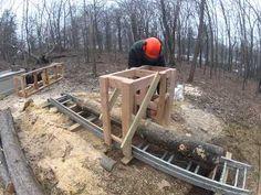 ▶ Wooden Sawmill - YouTube