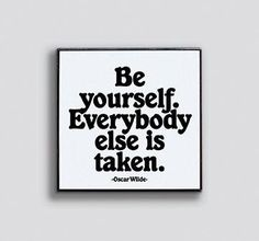 Be Yourself Enamel Pin by Quotable