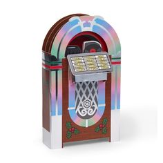 Jukebox Holiday Cards - Set of 8 in color Pop Up Greeting Cards, Holiday Pops, 3d Cards, Buying Wholesale, Museum Of Modern Art, Jingle Bells, Music Lovers, Jukebox, Holiday Cards