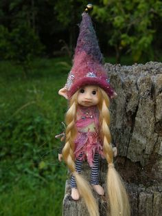 reserved for jane sweet tiny ooak posable 4.5  inch fairy fairie