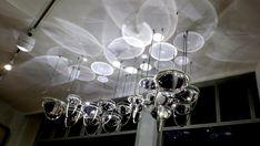 Jason Bruges Studio — Ebb & Flow Dj Lighting, Lighting Design, Green Box, Light Installation, Fashion Lighting, Sculpture, Bruges, Chandelier, Ceiling Lights