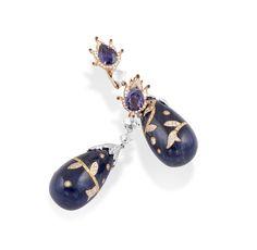Feels like 1001 magical nights! Oorbellen. Earrings #Oorbellen #Earrings #Juwelen #Jewelry #LillyZeligman  www.lillyzeligman.com