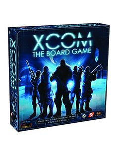 Xcom: The Board Game Fantasy Flight Games. Real time cooperative or solo game played with an app. See Rahdo runthrough in YouTube. Co-ops don't work in my family. :(