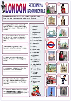 A collection of English ESL worksheets for home learning, online practice, distance learning and English classes to teach about london, london Teaching English Grammar, English Vocabulary, Teaching Spanish, English Lessons, Learn English, French Lessons, Spanish Lessons, Learn French, Verbo Can