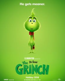 Check out a new poster for 'The Grinch', starring Benedict Cumberbatch, from Illumination Entertainment, the studio behind 'Despicable Me' and 'Sing'. Watch The Grinch, The Grinch Movie, Christmas Poster, Christmas Movies, Der Grinch Film, Benedict Cumberbatch, Disney Pixar, Iron Man, Baby Grinch