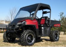 Polaris Ranger 400 Vinyl Windshield Top Cap Canopy, handcrafted of the finest quality materials available. Snowmobiles, Polaris Ranger, Atvs, Cool Things To Make, Canopy, Outdoor Power Equipment, Monster Trucks, Accessories, Cool Things To Do
