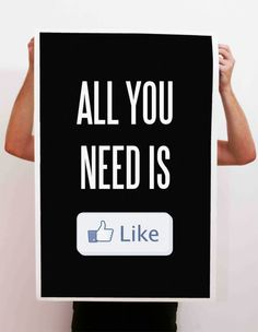 the Modern take on a classic message - All You Need Print by Carl Fairclough