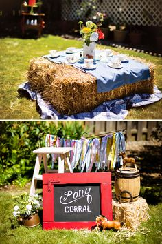 A Sweet & Colorful Country Tea Birthday Party // Hostess with the Mostess® Horse Birthday Parties, Birthday Party Snacks, Birthday Party Tables, Cowboy Birthday, 40th Birthday, Birthday Sayings, Birthday Images, Birthday Greetings, Birthday Wishes