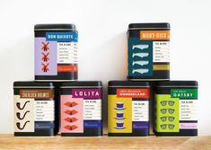 teas inspired by classic books? um, ok, the world is beautiful