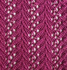 Vine lace swatch photo