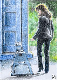 """One last adventure, eh RIP Elisabeth Clara Heath-Sladen Sarah Jane Smith, Doctor Who Companions, Classic Doctor Who, Doctor Who Fan Art, Hello Sweetie, Don't Blink, Torchwood, Dr Who, Tardis"