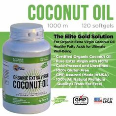 Here's a special Friday reward for all our subscribers, for 1 WEEK ONLY you'll save 30% off our Elite Gold Coconut Oil Capsules, just enter this text code: COCONUT3 at checkout on Amazon and you are all set! Enjoy some coconut oil and discover the wonders of this amazing all natural solution.  http://www.amazon.com/Capsules-Cholesterol-Unrefined-Supplement-Performance/dp/B00DIDLJLA  #coconut #coconutoil #extravirgincoconutoil #elitegoldsolutions