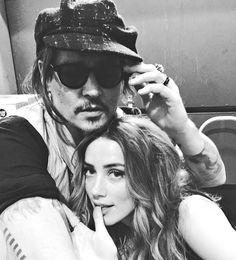 Johnny Depp and Amber Heard attend Stella McCartney's Autumn 2016 presentation in Hollywood, January 12