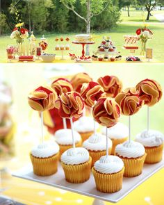 Cute red & yellow curious george birthday party. Love the invite!